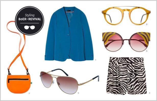 Modetrends 2017 80er Style Brillen