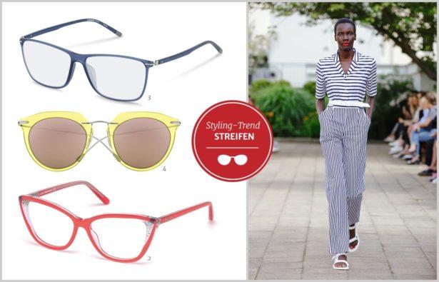 Modetrend 2017 maritimer Style Brillen