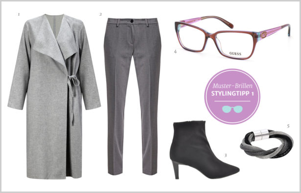 Muster-Brillen – Outfit Stylingtipp 1