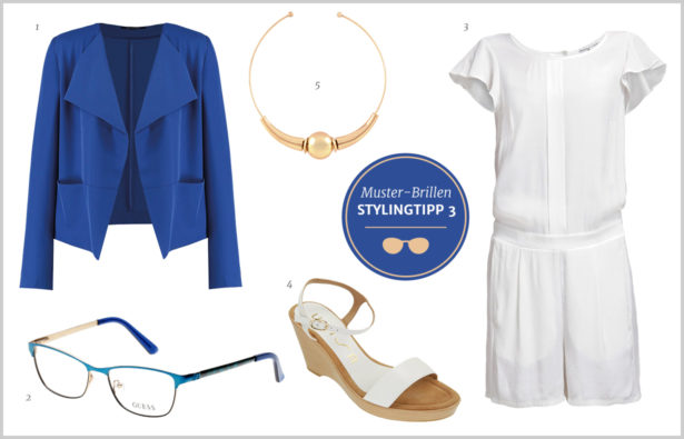 Muster-Brillen – Outfit Stylingtipp 3