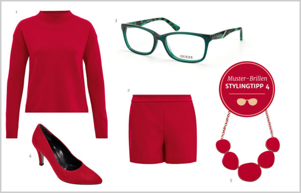 Muster-Brillen – Outfit Stylingtipp 4