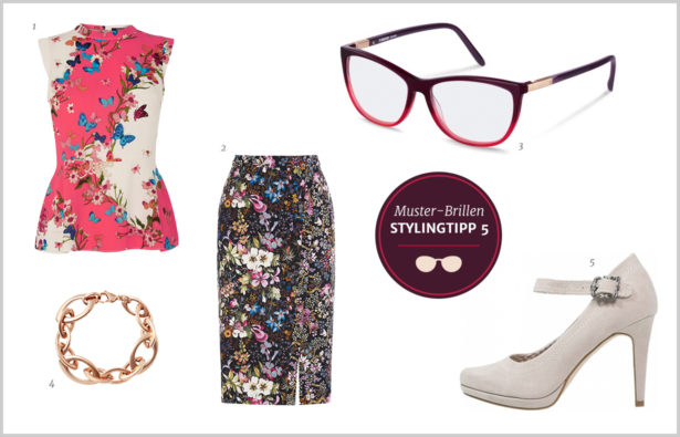 Muster-Brillen – Outfit Stylingtipp 5
