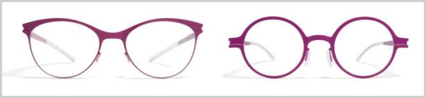 Partnerlook-Brillen pink