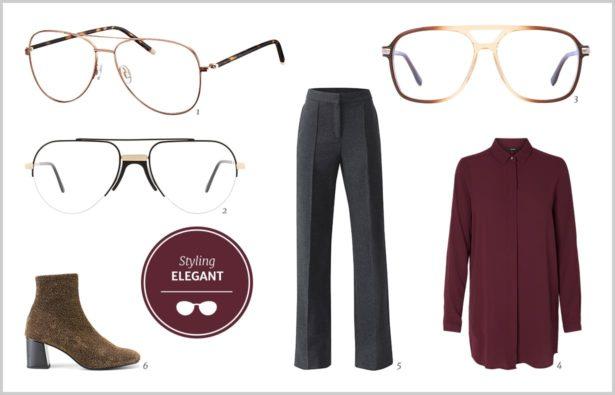 Pilotenbrille zum eleganten Styling 2018