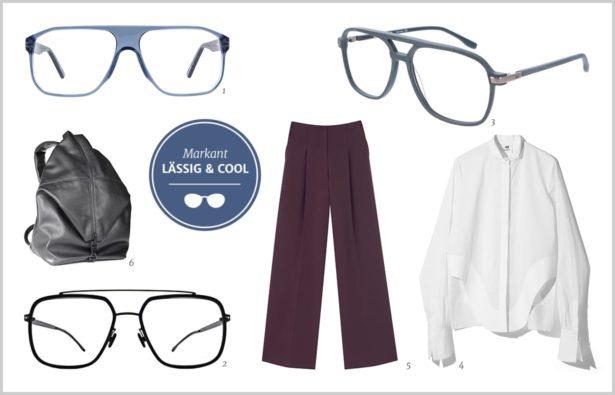 Pilotenbrille minimalistisch und markant 2018