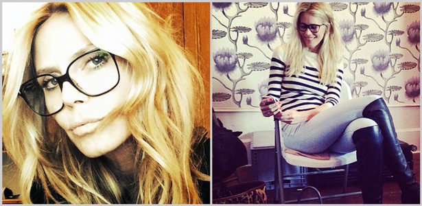 Promis und ihre Brillen – Heidi Klum, Claudia Schiffer