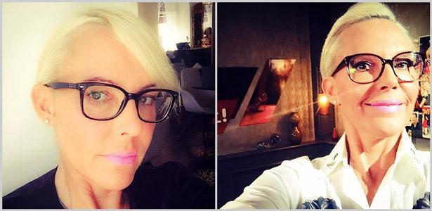 Promis und ihre Brillen Natasha Ochsenknecht