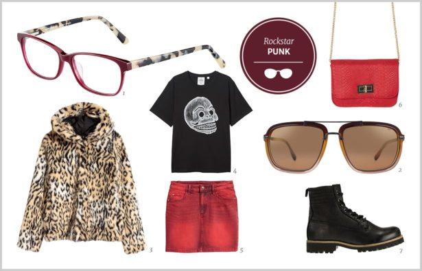 Brillen im Rockstar-Styling, Rockstar-Styling Punk, Steampunk