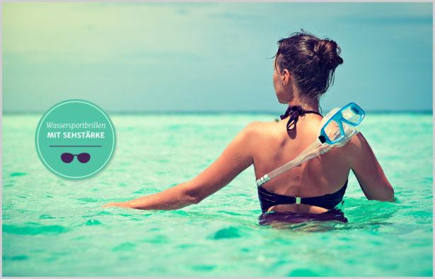 Schwimm- und taucherbrillen Wassersportbrillen mit Sehstärke