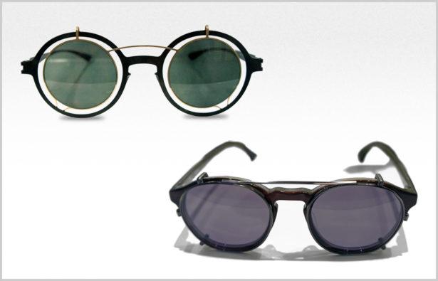 Silmo Paris 2015 – Korrektionsbrille mit Sonnenaufsatz Brillen