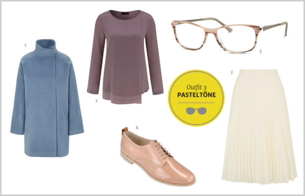 Silmo Paris 2015 – Outfit Farb-Trends – Pudertoene Pastell und Taupe