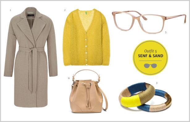 Silmo Paris 2015 – Outfit Farb-Trends – Senfgelb und Sandtöne