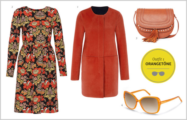 Silmo Paris 2015 – Outfit Farbtrends – Orangetöne