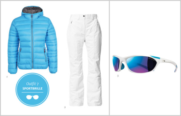 Sonnenbrillen Winterbrillen Sport-Sonnenbrillen Outfit 7