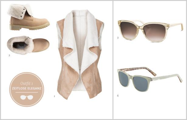 Sonnenbrillen Winterbrillen zeitlos elegante Sonnenbrillen Outfit-1