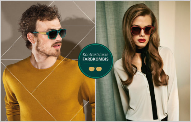 Sonnenbrillentrends 2015 Farbkombinationen