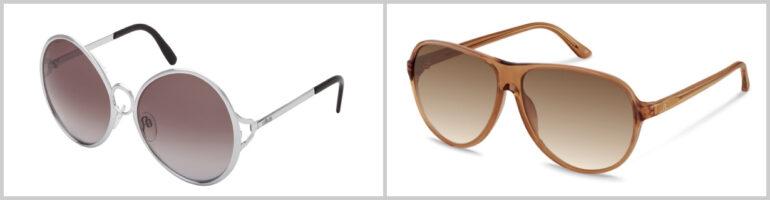 Sonnenbrillen Retro