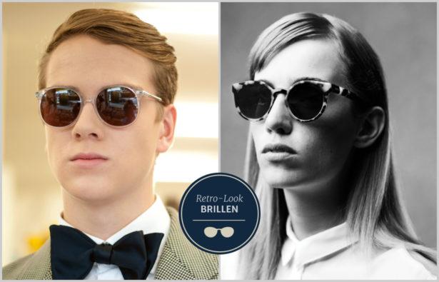 Sonnenbrillentrends 2015 Eine runde Sache: Round Shades sind einer der Sonnenbrillentrends 2015. Bilder: FUNK/ Maria Schwalm; Komono/ Crafted