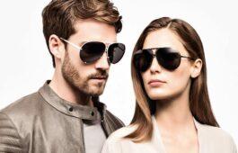 Sonnenbrillentrends 2015 Stylish, sportlich, dunkel: Die neuen Aviator-Formen. Bild: Porsche Design by Rodenstock