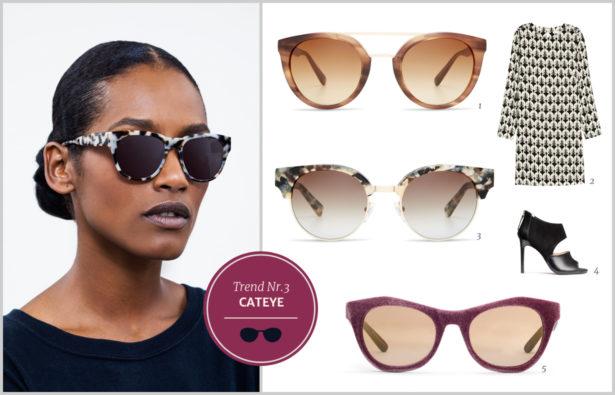 Sonnenbrillentrends 2016 Cateye-Modelle