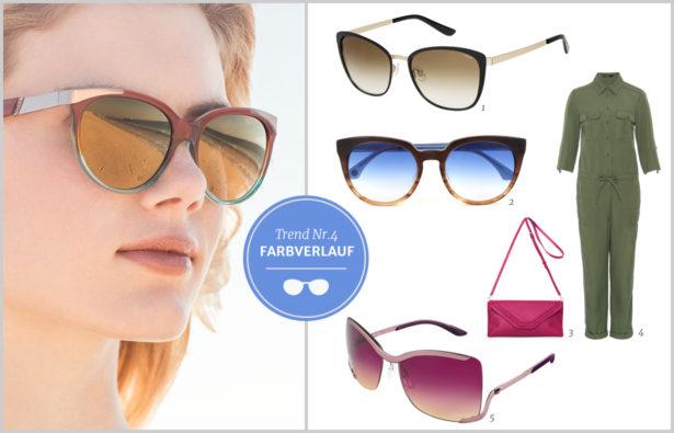 Sonnenbrillentrends 2016 Farbverlauf