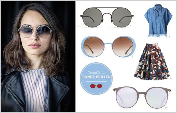 Sonnenbrillentrends 2016 Runde Brillen