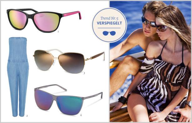 Sonnenbrillentrends 2016 Verspiegelte Gläser