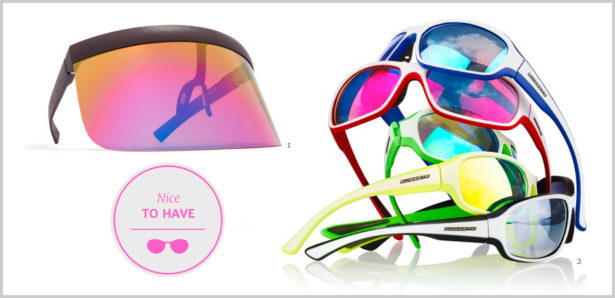 Sport-Sonnenbrillen Nice to have