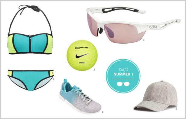 Sport-Sonnenbrillen Outfit 1