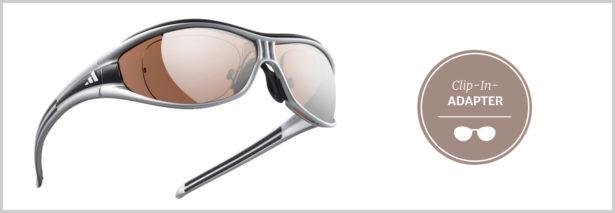 Sport-Sonnenbrillen Sehstärke mit Clip-in-Adapter