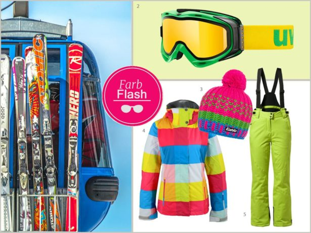 Winter-Styling Sportbrille