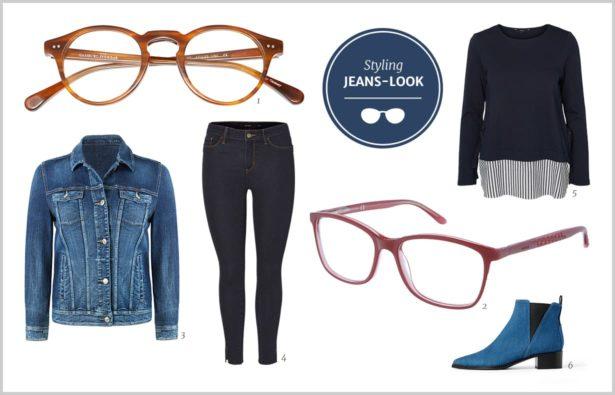 Brille Frauen Jeans-Look 2017 Herbst 2017
