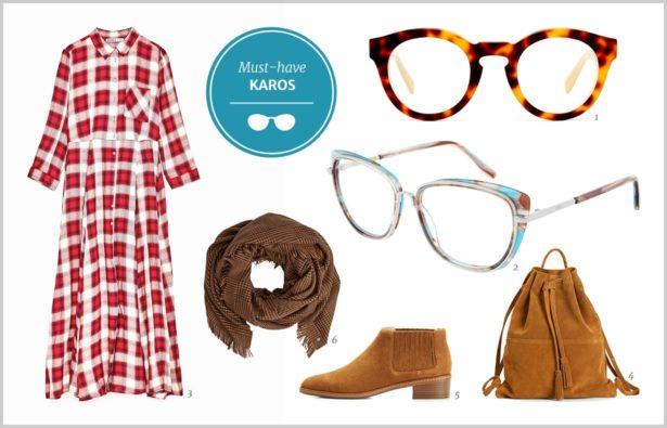 Herbsttrend Karos Brillen