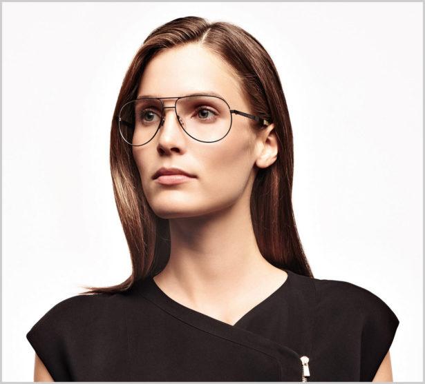 Kurzsichtige sollten sich mit hellen Farben schminken, das sorgt für einen offenen Blick. Bild: Rodenstock