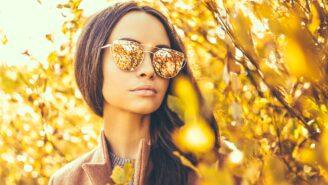 Herbsttrends 2017 Brillen, Brillen mit Muster