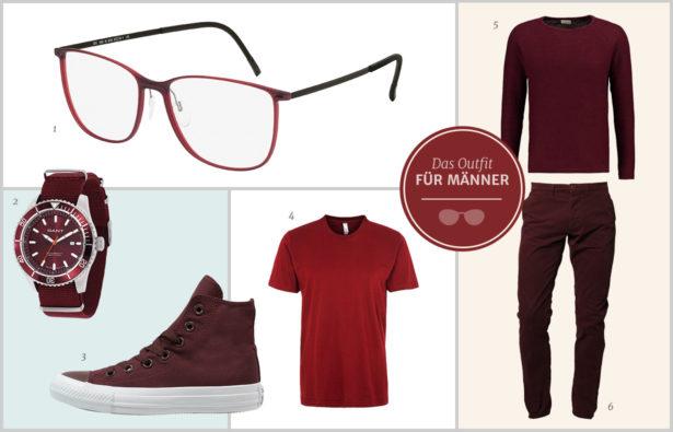 Marsala – Die Trendfarbe des Jahres 2015 Männer