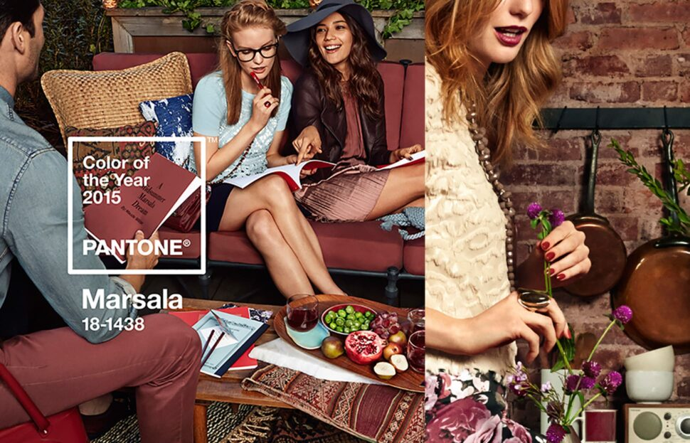 Trendfarbe 2015: Marsala | Bilder: Pantone.com