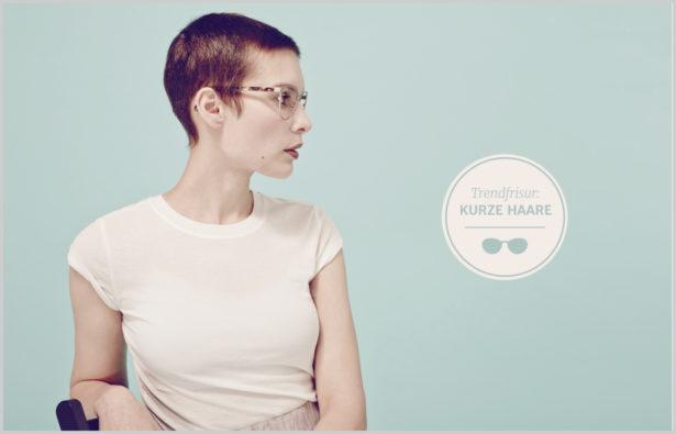 Trendfrisuren 2016 Und Brillen kurze Haare