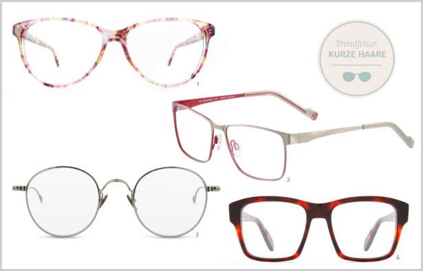 Trendfrisuren 2016 Und Brillen kurze Haare 01