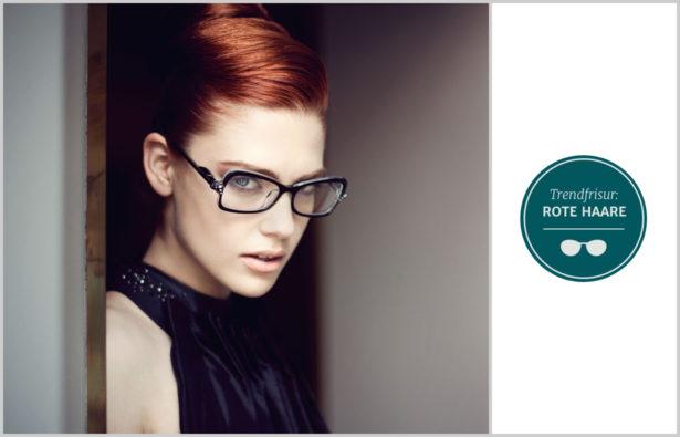 Trendfrisuren 2016 Und Brillen rote Haare