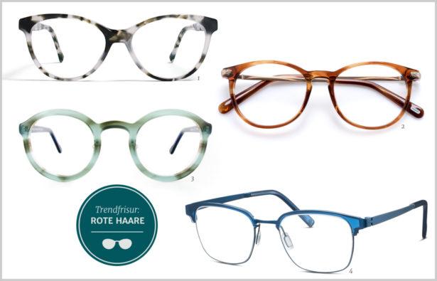 Trendfrisuren 2016 Und Brillen rote Haare 01