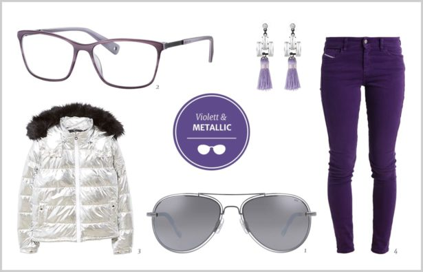 Brillen in Trendfarbe 2018 Ultra Violet