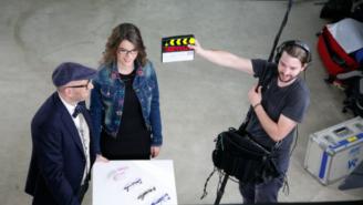 Video-Tutorial: Thomas Rath beim Dreh der Video-Tutorial-Reihe