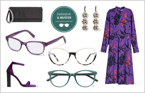 Festtags-Styling mit Brille, Weihnachts-Outfit mit Brille