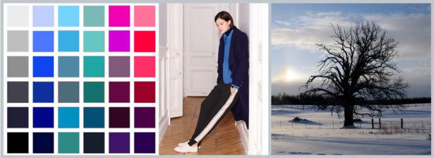 Die Wintertyp-Farben erinnern an einen strahlenden Wintertag. Bilder: Zara, flickr.com