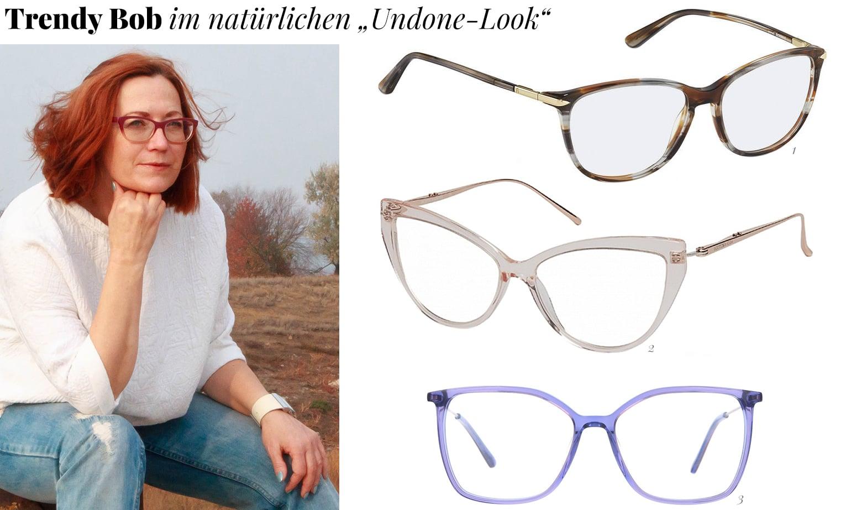 Frisur und Brille für Frauen ab 50
