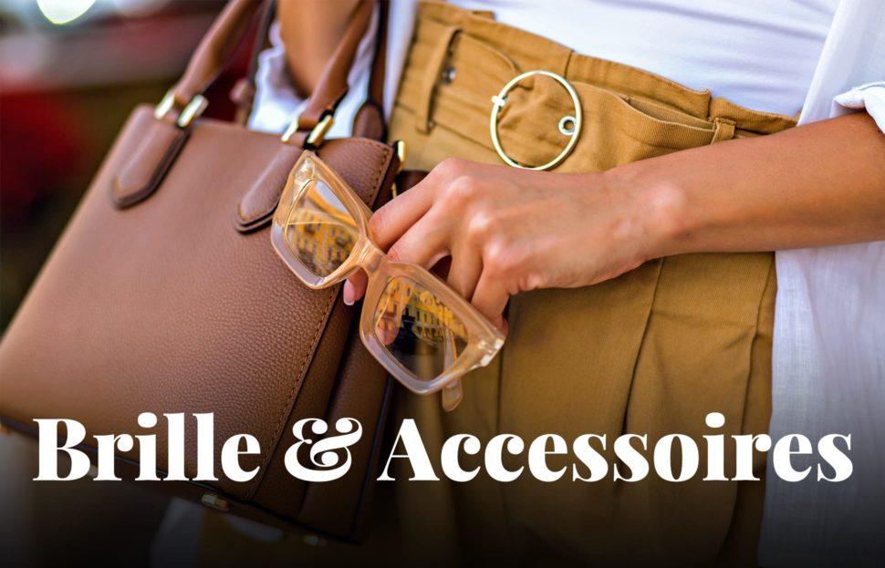 Brillen und Accessoires zum Outfit