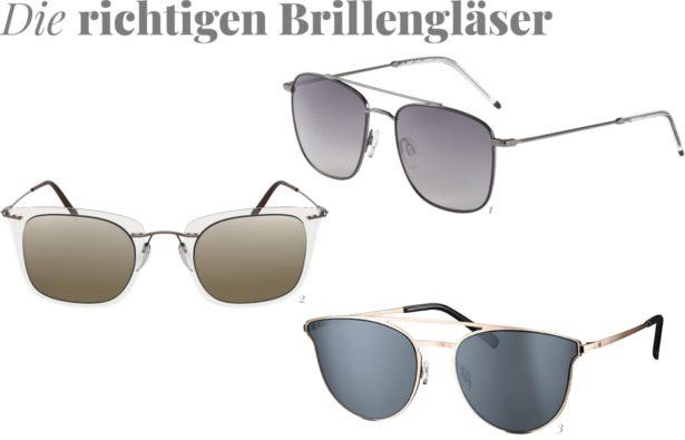 Autofahrerbrillen-getoente Glaeser
