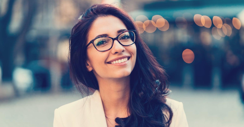 Brille für Trapezförmiges Gesicht