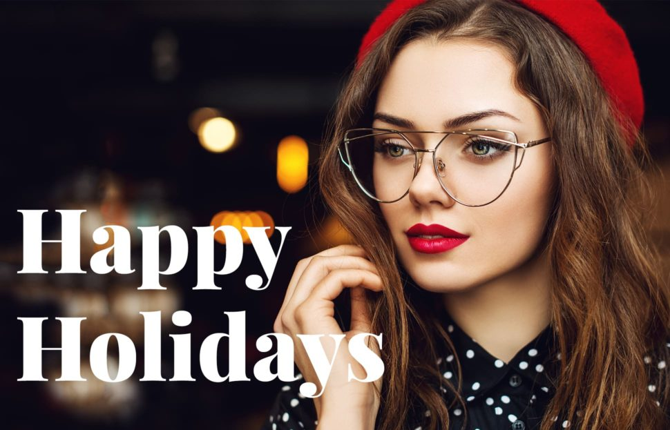 Schöne Brillen für Weihnachten und Silvester